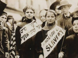 Young Girls Protest